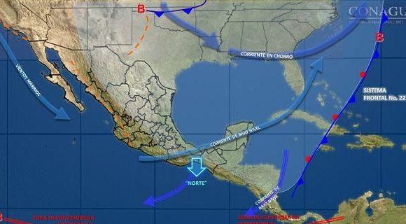 Pronóstico del clima para las próximas 24 horas en el estado de Chihuahua