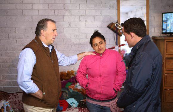 José Antonio Meade y Mikel Arriola visitan colonia de la delegación Tlalpan