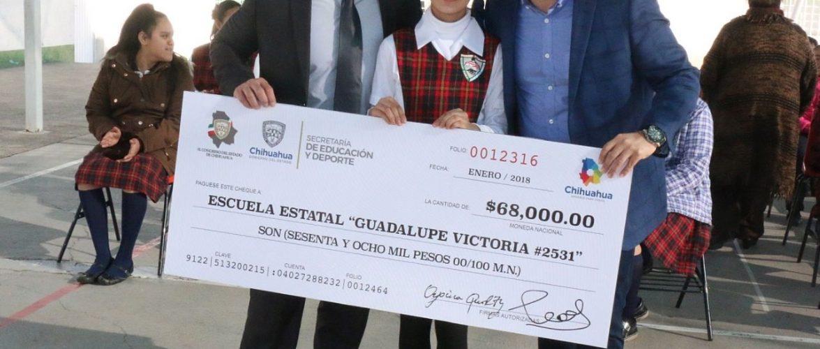 Celebra primaria apoyo «Diputado Infantil» Chihuahua, Chih.