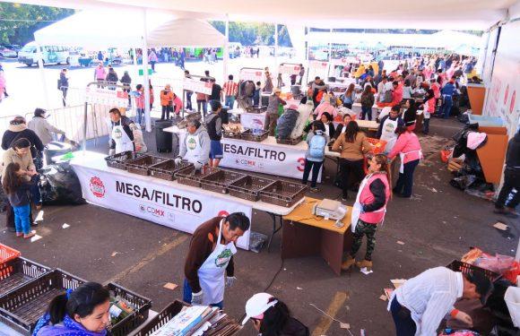 Asisten más de 3 mil personas a primera edición del año del Mercado de Trueque