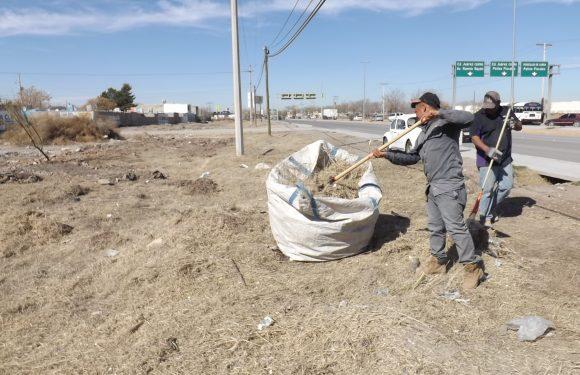 Llevará Servicios Públicos operativo de limpieza a San Isidro en Ciudad Juarez