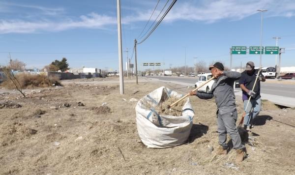 Llevará Servicios Públicos operativo de limpieza a San Isidro, Cd. Juárez, Chih.