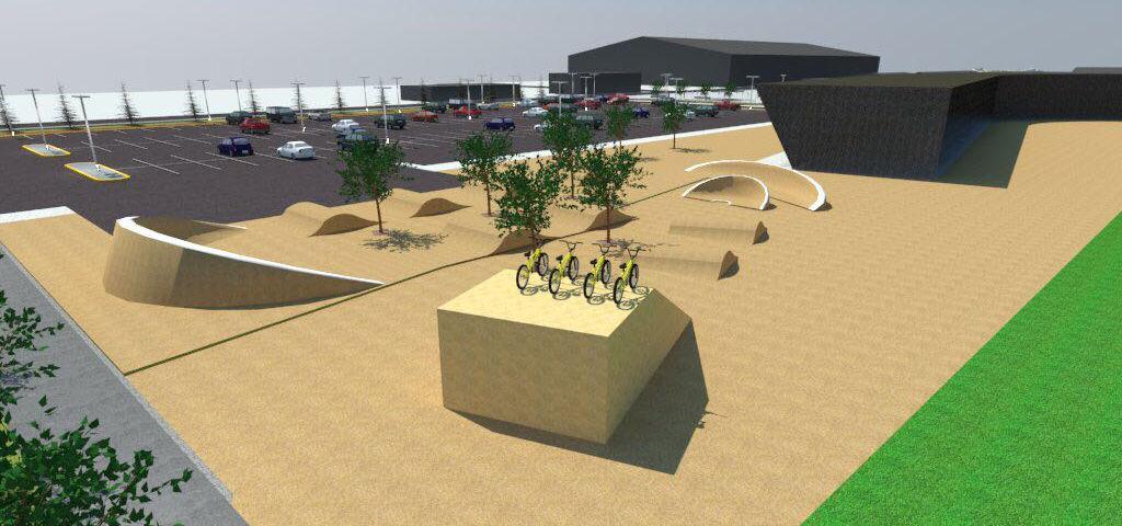 Agregarán al Polideportivo ciclopista tipo c y gimnasio al aire libre, Cd. Cuauhtémoc, Chih.