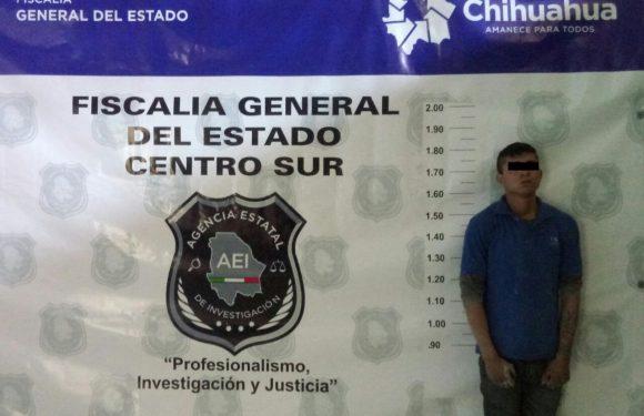 Agentes de la Fiscalía Zona Centro capturaron al probable responsable del homicidio de un menor en Delicias