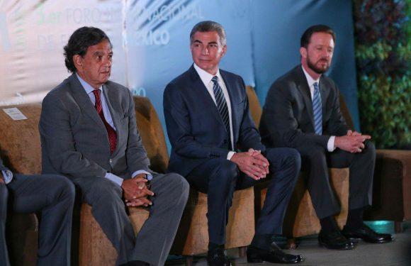 Clausura gobernador de Puebla foro Internacion de energia