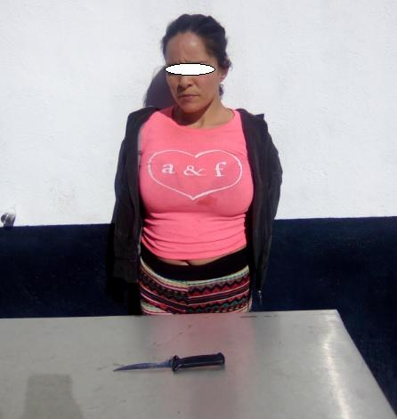 La detienen en Chihuahua por intentar matar a otra mujer