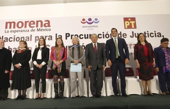 Palabras de AMLO al presentar el Plan Nacional para la Procuración de Justicia, Combate a la Corrupción y Democracia