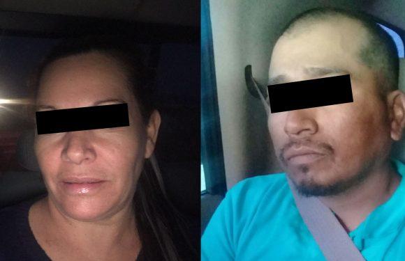 """Capturan en operativo conjunto a dos criminales de """"La Línea"""", incautan vehículos, droga y un arma larga."""