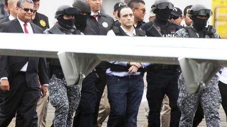 Borge llega a México a continuar su proceso por corrupción