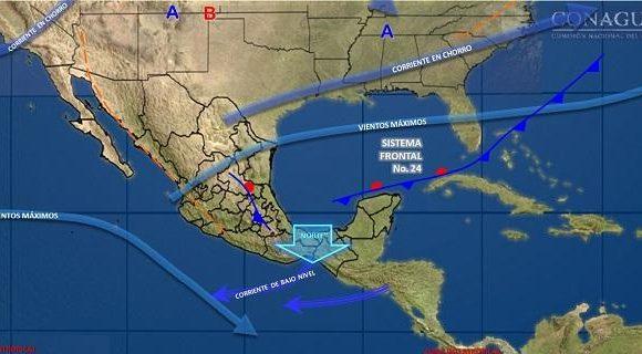 Pronóstico para las próximas 24 hrs. Chihuahua, Chih.