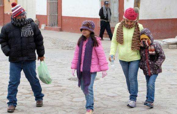 Bajarán nuevamente temperaturas por ingreso del frente frío no. 23 Chihuahua, Chih.