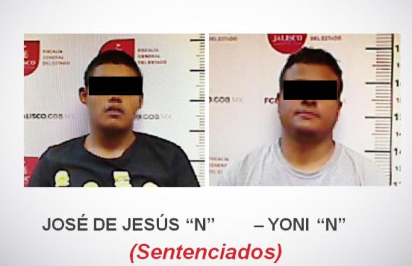 DICTAN SENTENCIA DE 50 AÑOS DE PRISIÓN A DOS SUJETOS ACUSADOS DE SECUESTRAR A UN HOMBRE