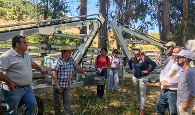 Apoya SAGARPA a jóvenes para capacitarse en materia vitivinícola en Chile