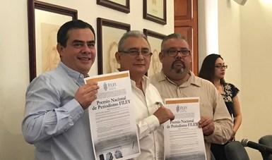 Convocan al primer Premio Nacional de Periodismo FILEY