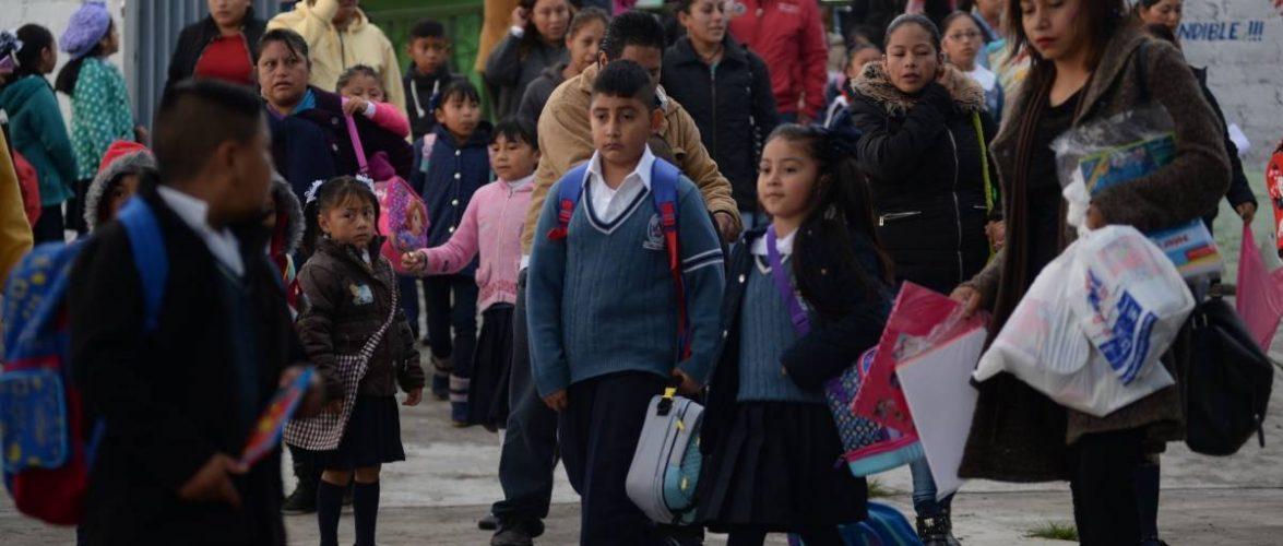 Regresan a clases más de 25.6 millones de estudiantes de educación básica