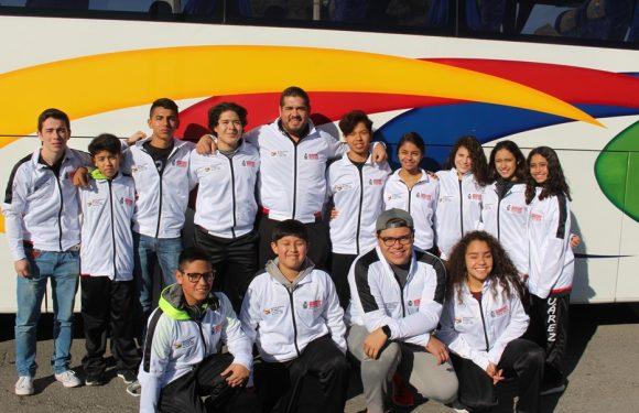 Delegaciones de ráquetbol y esgrima de Ciudad Juarez van a la Olimpiada Estatal