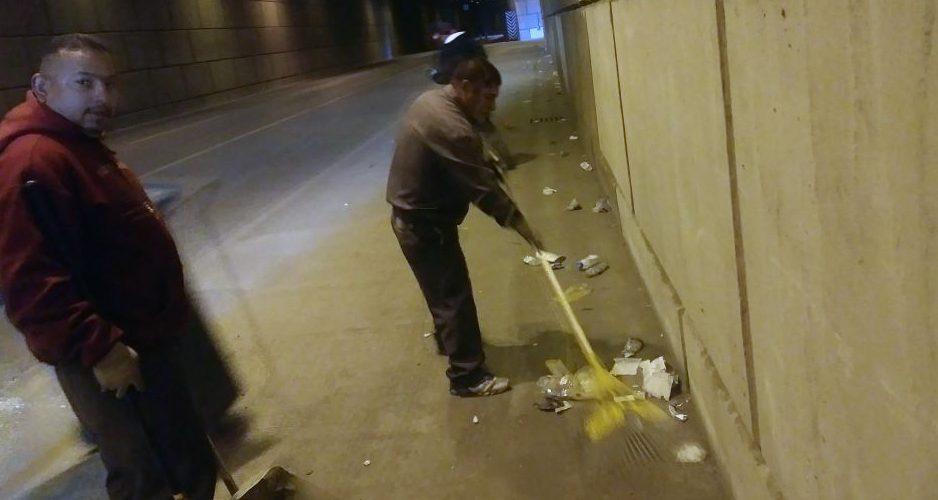 Ciudad Juarez – Llaman a extremar precaución al circular por el túnel de la 16 de Septiembre