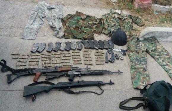 Decomisan arsenal y equipo táctico durante operativo conjunto en Creel