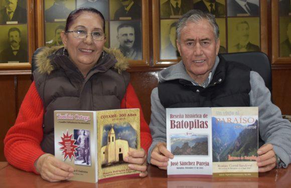 Escritores promueven libros sobre Coyame y Batopilas