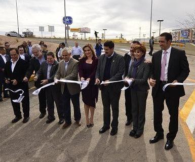 Inauguran distribuidor vial de la Homero y Tecnológico en la ciudad de Chihuahua