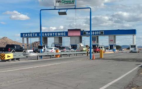 Liberan instalaciones de la caseta   de peaje Chihuahua – Cuauhtémoc