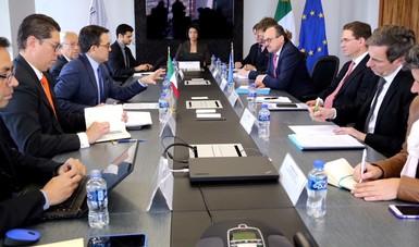 Se reúne Secretario de Economía con el Vicepresidente de la Comisión Europea