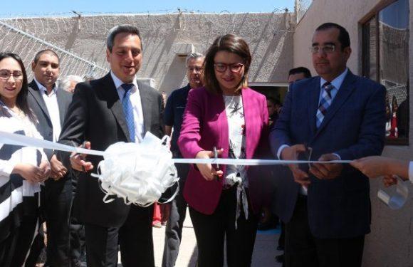 Inaugura FGE Unidad Básica de Rehabilitación en el Cereso de Aquiles Serdán