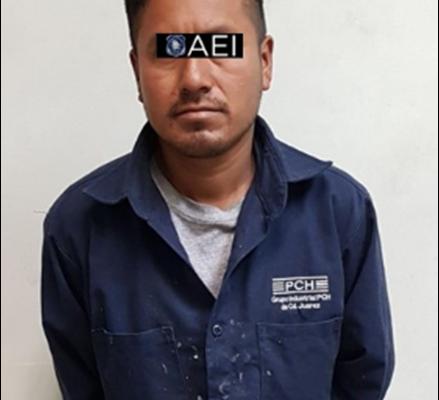 Violó a menor de 13 años, elementos de la AEI lo arrestaron mediante orden de aprehensión