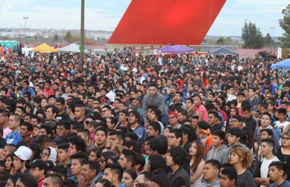 Juarez | Asisten 15 mil fronterizos a ver Dragon Ball Super en la Plaza de la Mexicanidad