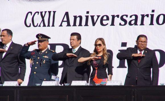 Conmemora Alcalde el 212 Aniversario del Natalicio de Benito Juárez