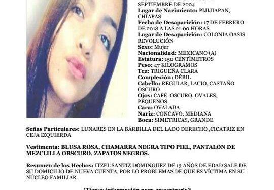 Luego de una intensa búsqueda, FEM localiza a menor de 13 años en la ciudad de Veracruz