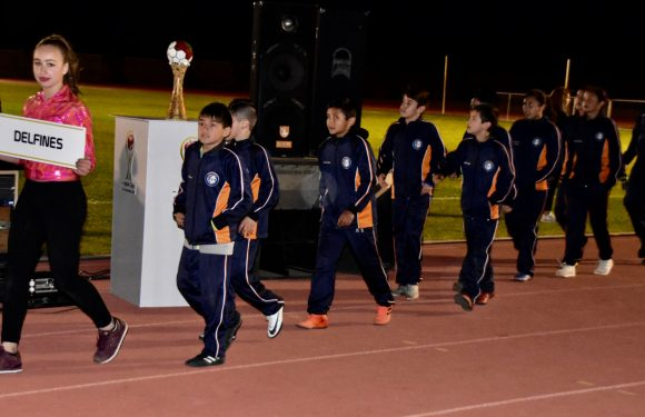 Inauguran torneo internacional de futbol infantil Apple Cup; participan 48 equipos