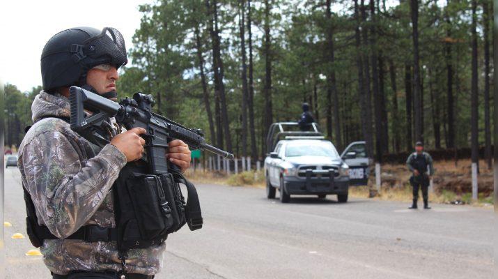 Asesta Comisión Estatal golpe al crimen organizado en zona serrana.