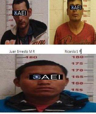 Vinculan a proceso penal a cuatro sujetos por robo a transeúntes