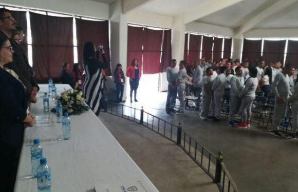 Se casan 30 parejas en el Cereso de Aquiles Serdán