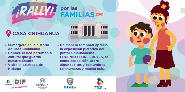 """Visita a museos, juegos, premios y cine, en """"Rally por las familias 2018"""" el sábado 10"""