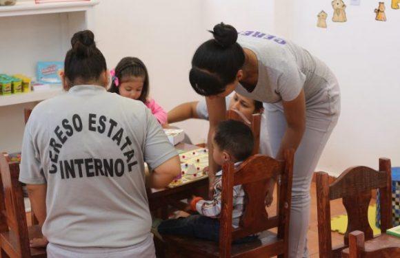 Inauguran la primera estancia infantil en el Cereso Femenil