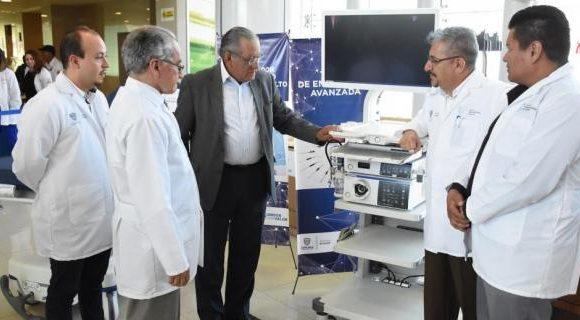 Entrega Salud equipos a los hospitales Infantil y Central de Chihuahua por 48.7 mdp