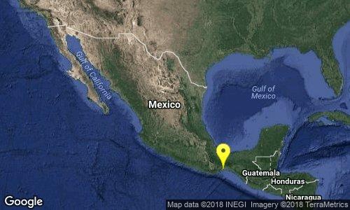 Hoy se registro Temblor de 5.3 grados en la ciudad de mexico