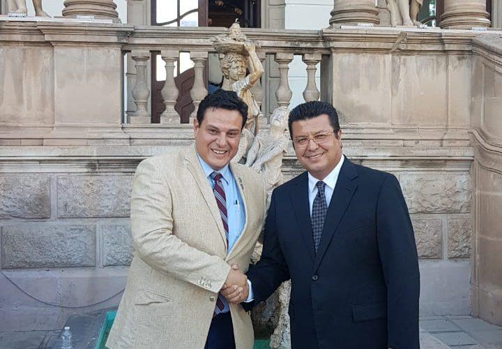 Juarez |  Formalizan UACH y Municipio donación mutua de predios