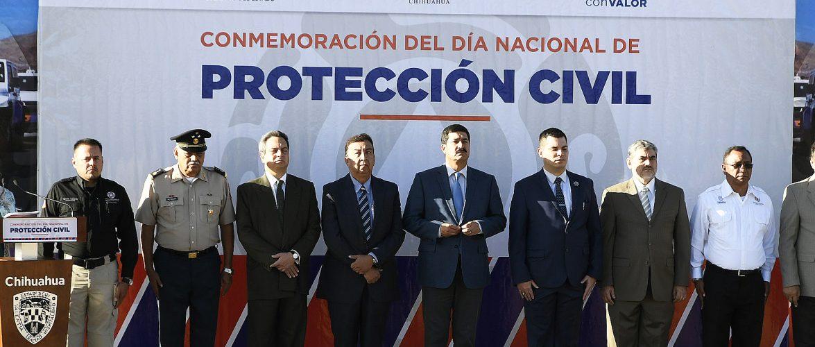 Chihuahua   FORTALECE CHIHUAHUA LA PREVENCIÓN Y   CONMEMORA EL DÍA NACIONAL DE PROTECCIÓN CIVIL