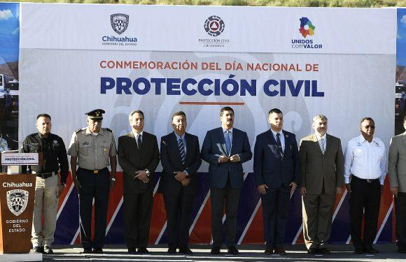 Chihuahua | FORTALECE CHIHUAHUA LA PREVENCIÓN Y   CONMEMORA EL DÍA NACIONAL DE PROTECCIÓN CIVIL