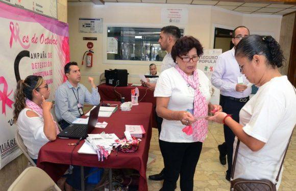 Juarez | Invitan a aprovechar último día del módulo de prevención de cáncer de mama