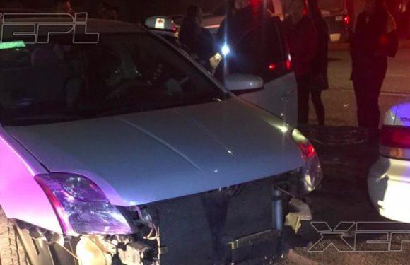 Cuauhtemoc | Mujer ebria choca 5 vehiculos en Anahuac