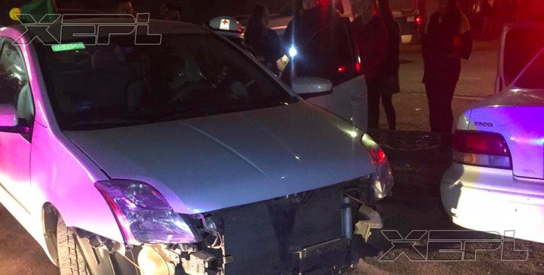 Cuauhtemoc   Mujer ebria choca 5 vehiculos en Anahuac