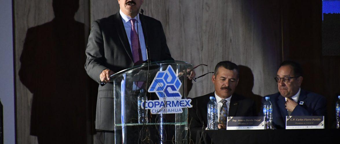 Las y los empresarios serán fundamentales para hacerse oír ante posibles regresiones: Javier Corral