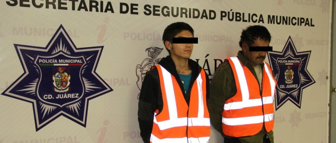 Juarez | Detienen a tres presuntos narcomenudistas, entre ellos un menor de edad