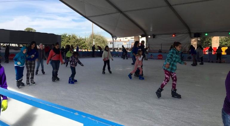 chihuahua| El día de hoy y mañana serán los únicos días en que estará la atracción de la pista de hielo en Chihuahua.