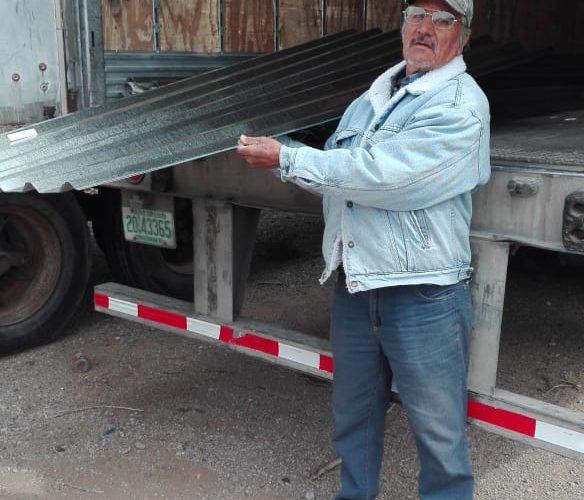Juarez   Benefician a 40 familias vulnerables con material de resguardo para el hogar