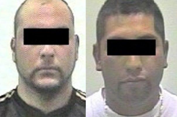 Detienen a dos policías estatales por robar combustible de sus unidades